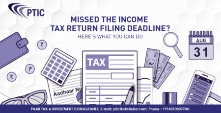 What you can do if you have missed the last date of Income Tax Return Filing